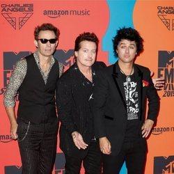 Green Day en los Premios MTV EMA 2019 en Sevilla