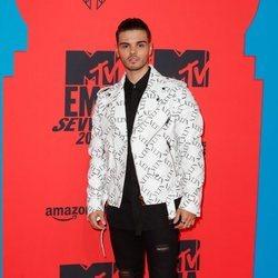 Abraham Mateo en los Premios MTV EMA 2019 en Sevilla