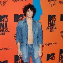 Jorge López en los Premios MTV EMA 2019 en Sevilla