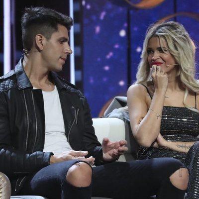 Diego Matamoros e Ylenia en el octavo debate de 'GH VIP 7'