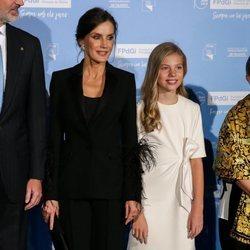 La Reina Letizia y la Infanta Sofía en los Premios Princesa de Girona 2019