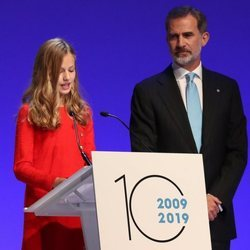 La Princesa Leonor en su discurso en los Premios Princesa de Girona 2019