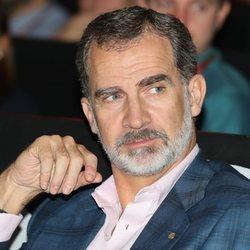 El Rey Felipe en la jornada 'El talento atrae al talento' de la Fundación Princesa de Girona