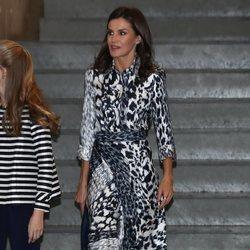 La Reina Letizia en la jornada 'El talento atrae al talento' de la Fundación Princesa de Girona