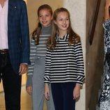 La Princesa Leonor y la Infanta Sofía en la jornada 'El talento atrae al talento' de la Fundación Princesa de Girona