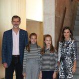 Los Reyes Felipe y Letizia, la Princesa Leonor y la Infanta Sofía en los actos de los Premios Fundación Princesa de Girona 2019