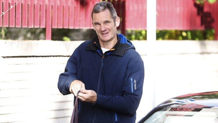 Iñaki Urdangarin llega a su voluntariado con ropa deportiva