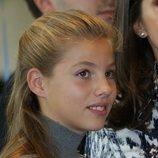 La Infanta Sofía en el acto final de los Premios Princesa de Girona 2019