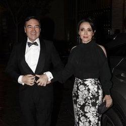 Pedro J. Ramírez y Cruz Sánchez llegando a los premios Harper's Bazaar 2019