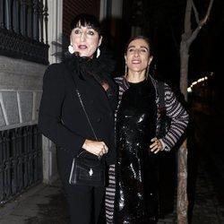 Rossy de Palma llegando a los premios Harper's Bazaar 2019