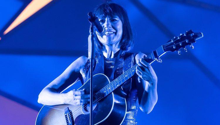Amaral en uno de sus conciertos en Zaragoza