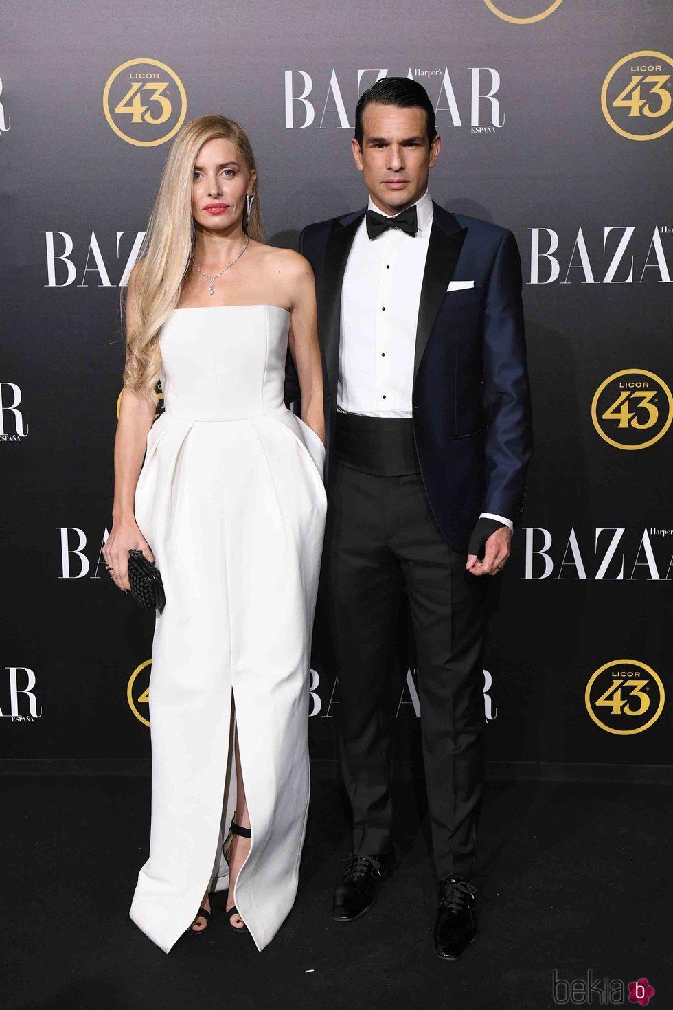 Rocío Escalena y José María Manzanares en los premios Harper's Bazaar 2019
