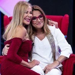 Ana Obregón con Toñi Moreno en 'Aquellos maravillosos años'