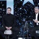 Gianmarco en la entrevista con Jorge Javier Vázquez tras su expulsión en la gala 10 de 'GH VIP 7'