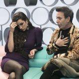 Adara y el Maestro Joao en el confesionario en la gala 10 de 'GH VIP 7'