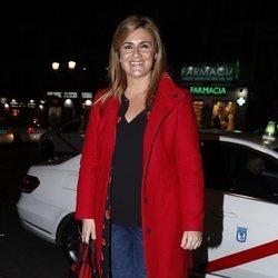 Carlota Corredera en la fiesta del 46 cumpleaños de Belén Esteban