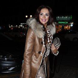 Olga Moreno en la fiesta del 46 cumpleaños de Belén Esteban