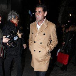 Fernando Hierro en la fiesta del 46 cumpleaños de Belén Esteban