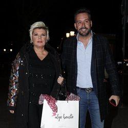 Terelu Campos y Kike Calleja en la fiesta del 46 cumpleaños de Belén Esteban