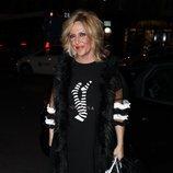 Lydia Lozano en la fiesta del 46 cumpleaños de Belén Esteban