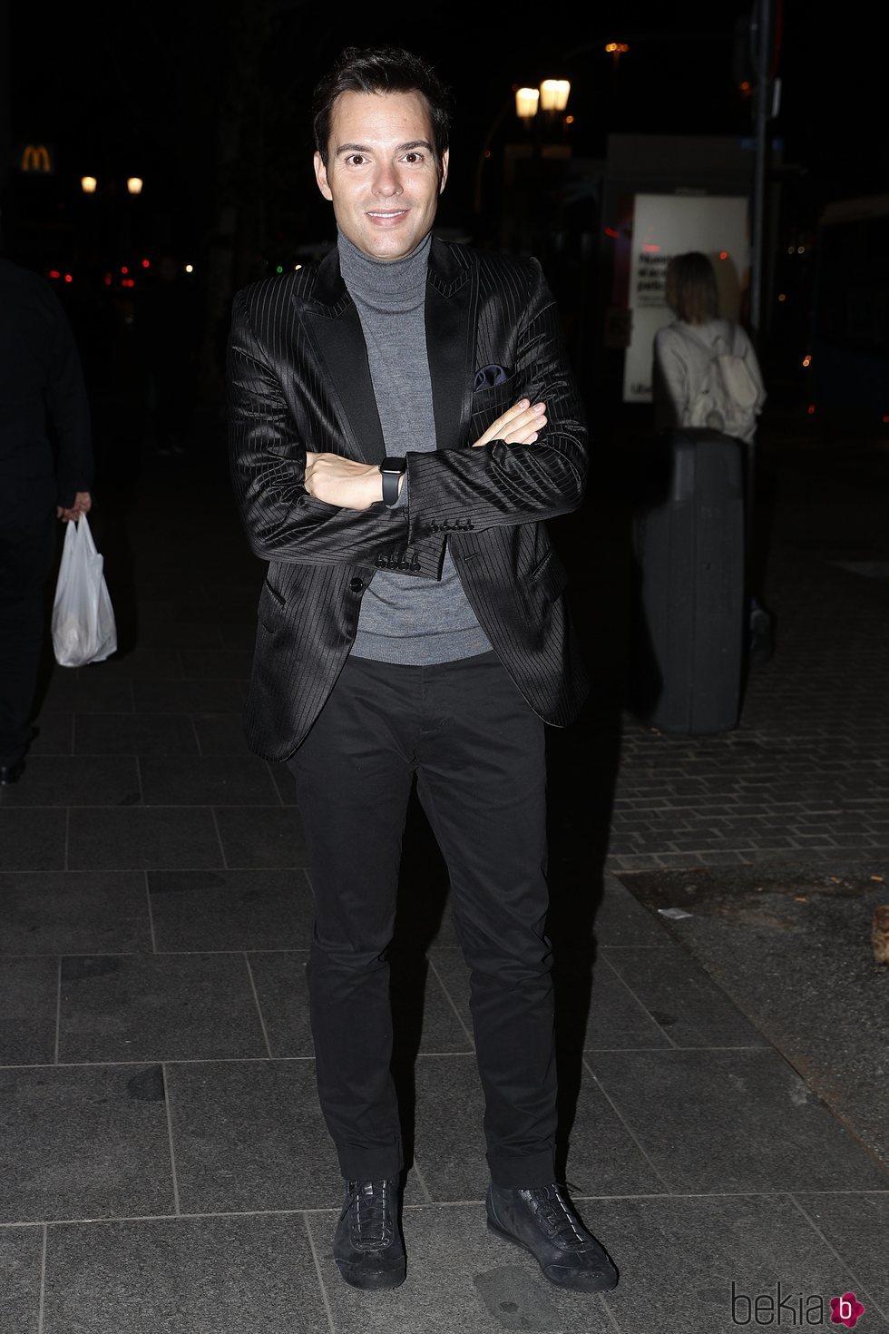 Antonio Rossi en la fiesta del 46 cumpleaños de Belén Esteban