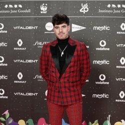 Roi Méndez en Los 40 Music Awards 2019