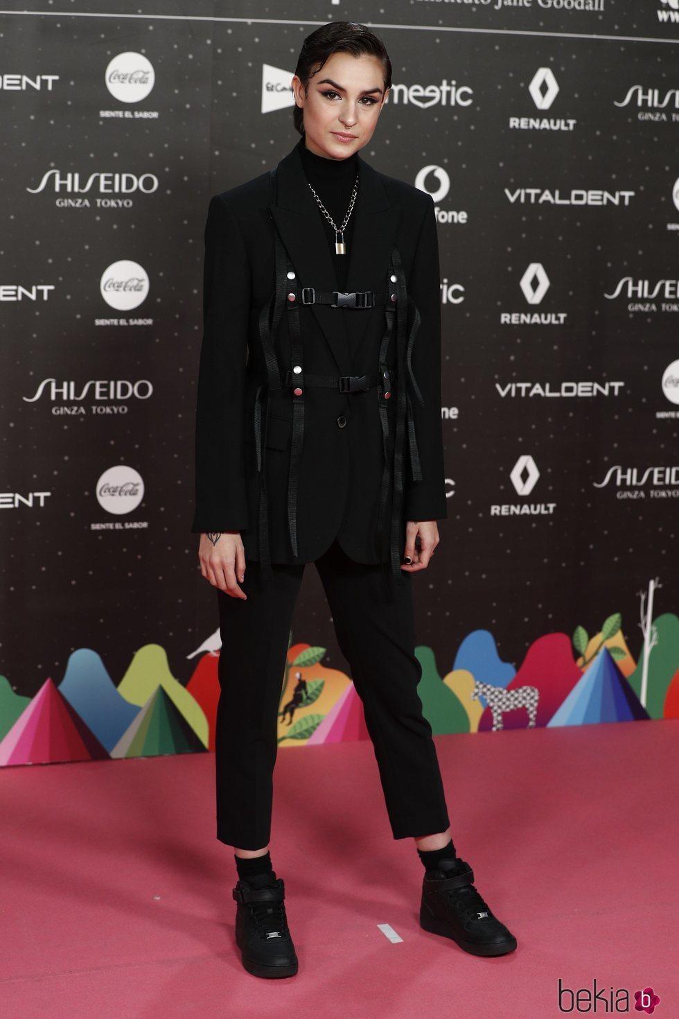 Natalia Lacunza en Los 40 Music Awards 2019