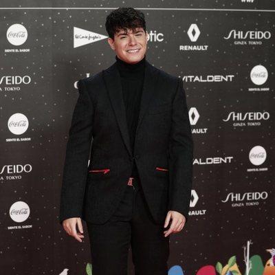 Alfred García en Los 40 Music Awards 2019