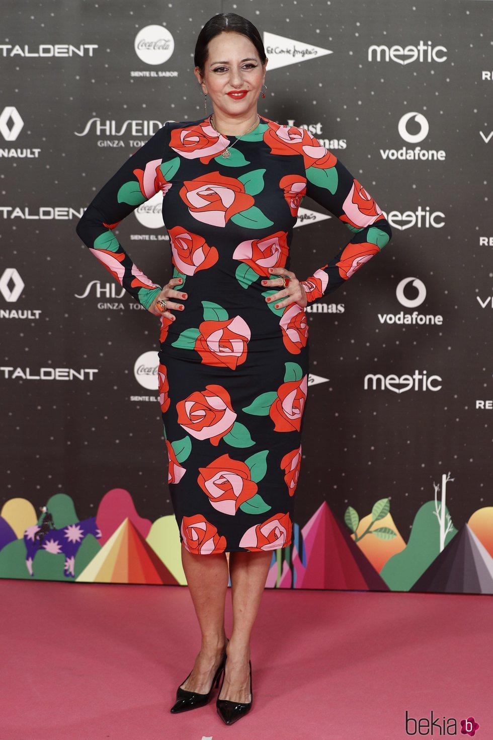 Yolanda Ramos en Los 40 Music Awards 2019