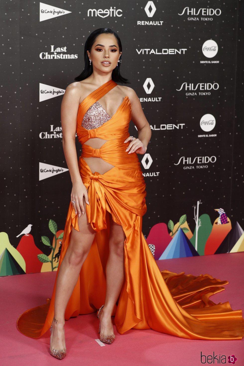 Becky G en Los 40 Music Awards 2019