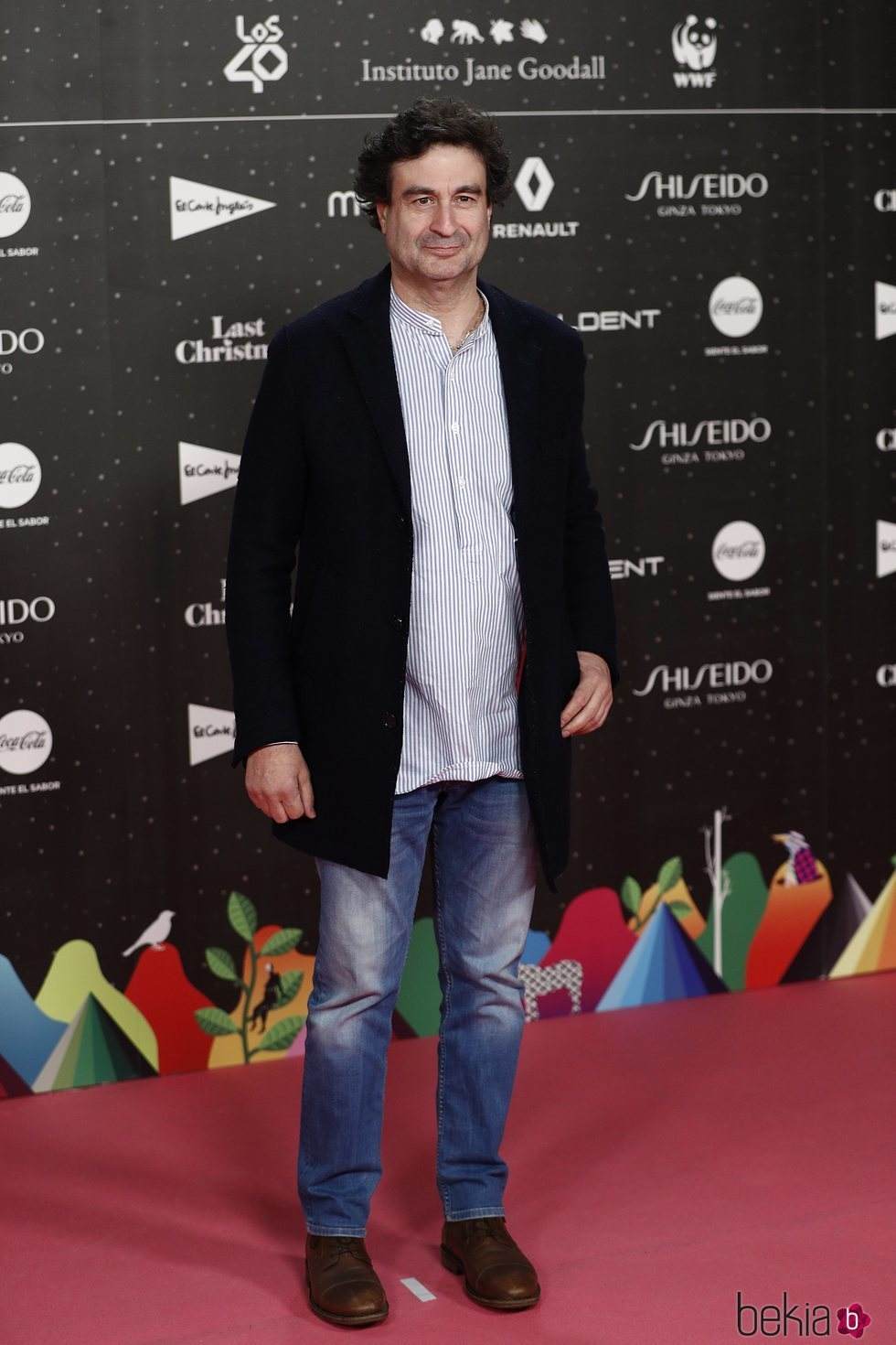 Pepe Rodríguez en Los 40 Music Awards 2019