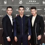 Nick Jonas, Joe Jonas y Kevin Jonas en Los 40 Music Awards 2019