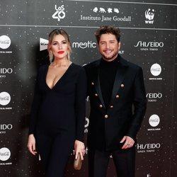 Manuel Carrasco y Almudena Navalón en Los 40 Music Awards 2019