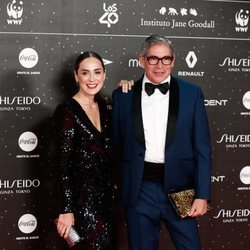 Tamara Falcó y Boris Izaguirre en Los 40 Music Awards 2019