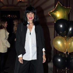 Carola Baleztena en la fiesta del 50 cumpleaños de Arancha de Benito