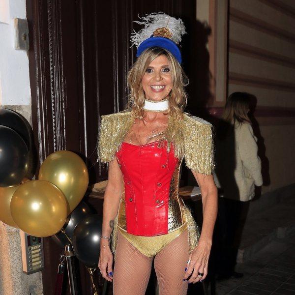 Arancha de Benito organiza una fiesta de disfraces por su 50 cumpleaños