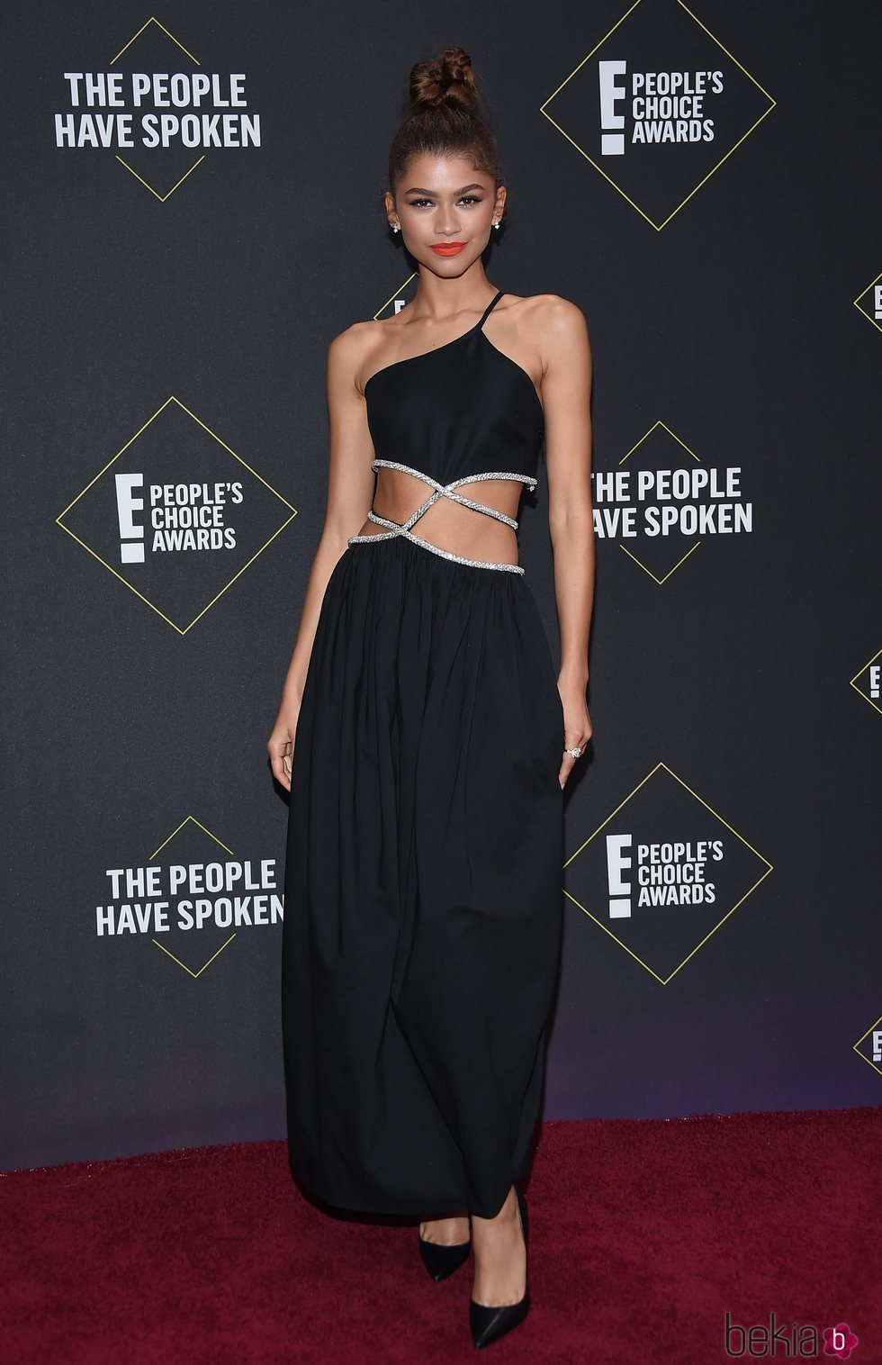 Zendaya en la alfombra roja de los People's Choice Awards 2019