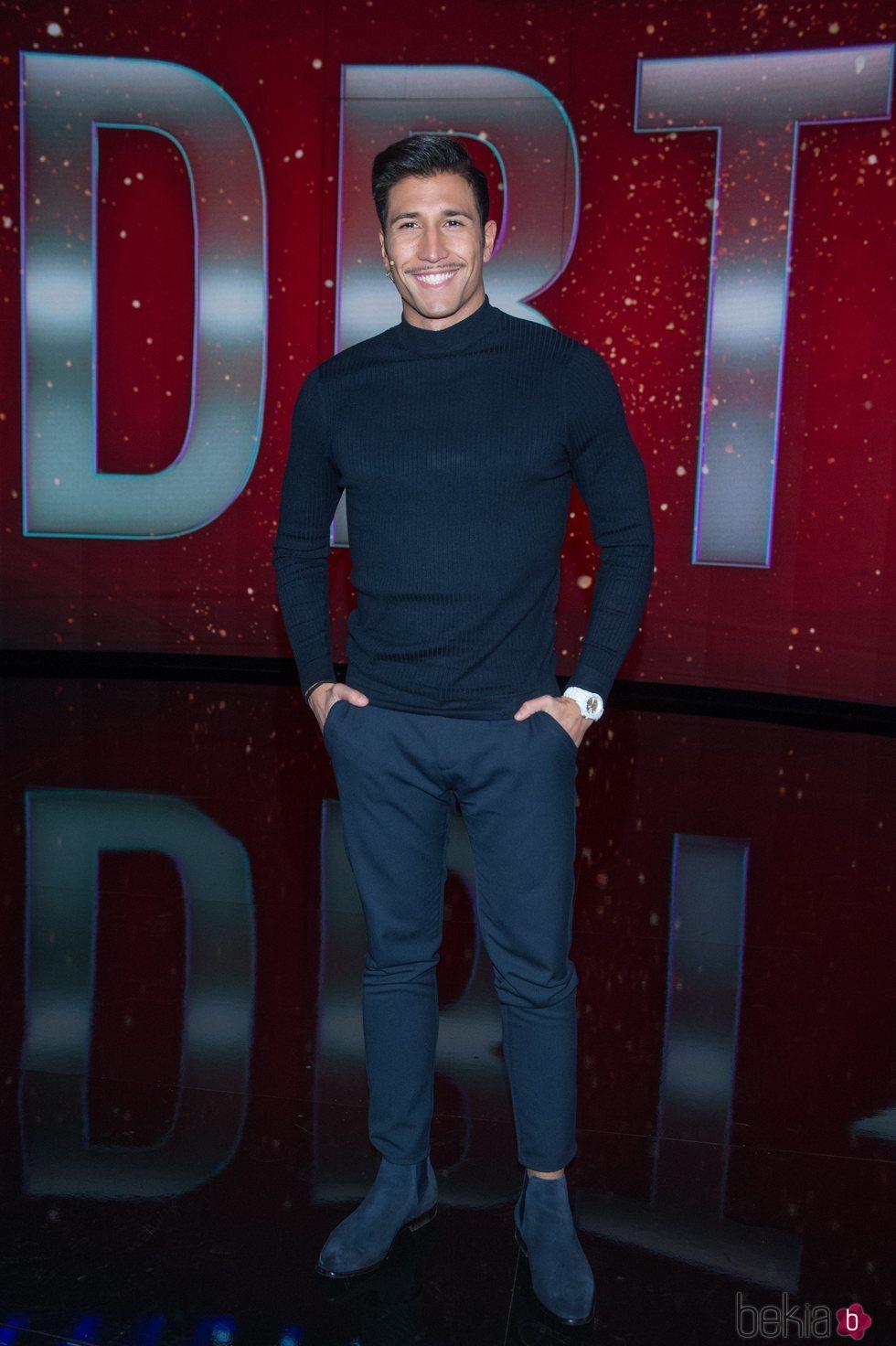 Gianmarco posando durante el noveno debate de 'GH VIP 7'
