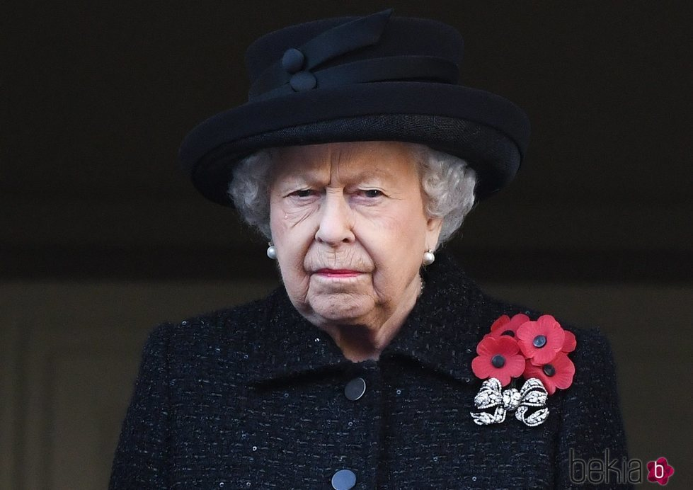 La Reina Isabel en el Día del Recuerdo 2019