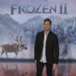 David Bisbal presenta 'Mucho más allá', canción de 'Frozen 2'