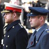 El Príncipe Guillermo y el Príncipe Harry en el Día del Recuerdo 2019