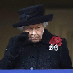 La Reina Isabel, emocionada en el Día del Recuerdo 2019