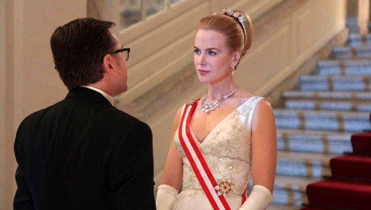Nicole Kidman en un fotograma de la película 'Grace de Mónaco'