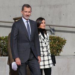 Los Reyes Felipe y Letizia antes de comenzar su Visita de Estado a Cuba