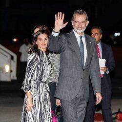 Los Reyes Felipe y Letizia aterrizan en La Habana al comienzo de su Visita de Estado a Cuba