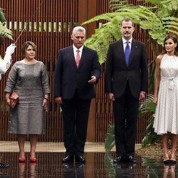 Los Reyes Felipe y Letizia con Miguel Díaz-Canel y Lis Cuesta en su Visita de Estado a Cuba