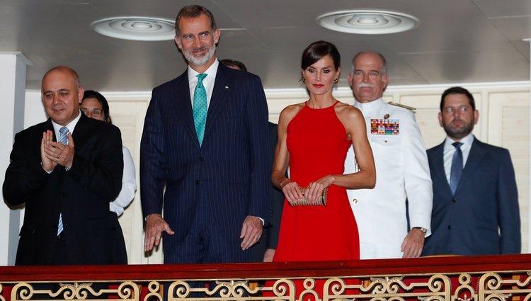 Los Reyes Felipe y Letizia en la Gala de Ballet en su Visita de Estado a Cuba