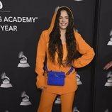 Rosalía en el premio Persona del Año 2019 en los Grammy Latino