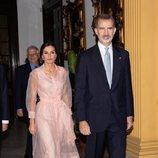 Los Reyes Felipe y Letizia en la cena en honor al Presidente de Cuba en su Visita de Estado a Cuba