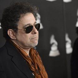 Andrés Calamaro en la alfombra roja del premio Persona del Año 2019 en los Grammy Latino